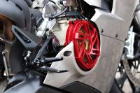 Desmoworld - Desmoworld Billet Clear Clutch Cover & Pressure Plate Ring for Ducati Panigale V4 - Image 17