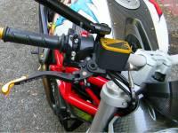 Ducabike - Ducabike Billet Aluminum & Carbon Brake/Clutch Fluid Reservoir Caps: Ducati Scrambler 1100 - Image 6