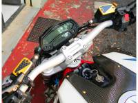 Ducabike - Ducabike Billet Aluminum & Carbon Brake/Clutch Fluid Reservoir Caps: Ducati Scrambler 1100 - Image 7