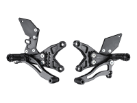 Bonamici Racing - Bonamici Adjustable Billet Rearsets: Kawasaki ZX-10R 16 +