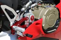 CNC Racing - CNC Racing Special Edition Billet Rearsets: Ducati Panigale V4/S/Speciale [Folding Pags /Toe Piece]