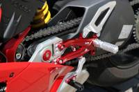 CNC Racing Special Edition Billet Rearsets: Ducati Panigale V4 / S / Speciale[Folding Pags /Toe Piece]