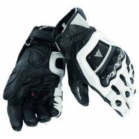 DAINESE Closeout  - DAINESE 4-Stroke Evo Gloves - White/White/Black - [CLOSEOUT-No Returns or Exchanges]