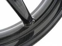 """BST Wheels - BST Diamond TEK Carbon Fiber 5 Spoke Wheel Set [5.75"""" Rear]: Ducati Sport Classic, Paul Smart, GT1000 - Image 6"""