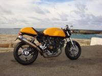 """BST Wheels - BST Diamond TEK Carbon Fiber 5 Spoke Wheel Set [5.75"""" Rear]: Ducati Sport Classic, Paul Smart, GT1000 - Image 8"""