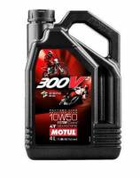 "Motul - MOTUL 300V Factory Synthetic 10W50 Oil [4 Liter], The best and latest in ""High-End"" Motorcycle lubricant technology to date!"