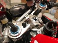 SpeedyMoto - Speedymoto Limited Billet Top Triple Clamp: Panigale 1199 S/R - 1299 S/R  [No Base models]  & 899 / 959 - Image 2