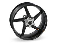 "BST Wheels - 5 Spoke Wheels - BST Wheels - BST Diamond TEK Carbon Fiber 5 Spoke Rear Wheel [5.5"" Rear]: Ducati Monster 695ie-696-900ie, Sport Classic-GT1000, ST2/3/4/4S"