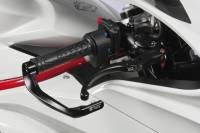 Bonamici Racing - BONAMICI RACING ALLOY FOLDING LEVER SET - BLACK / RED Or All Black: MV Agusta F3 675/800 [All 2012+] - Image 3