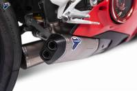 Termignoni - Termignoni Dual Silencer Racing Slip-On Exhaust Kit: Ducati Panigale V4/S/R [Includes UPMAP and Air Filter]
