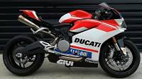 ZARD Stainless Steel Headers/Titanium Canisters, 2-1-2 Underseat Full Exhaust System: Ducati Panigale 959