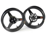 "BST Wheels - BST 3 Spoke Wheel Set: 4.0"" X 12"" / / 2.75"" X 12"": Honda Grom 125 - Image 3"