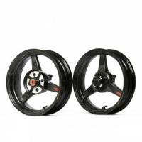"BST Wheels - 3 Spoke Wheels - BST Wheels - BST 3 Spoke Wheel Set: 4.0"" X 12"" / / 2.75"" X 12"": Honda Grom 125"