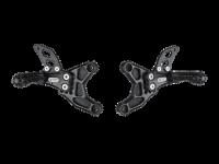 Hand & Foot Controls - Foot  Controls - Bonamici Racing - Bonamici Billet Rearsets: APRILIA RSV 1000 / TUONO (98-03)