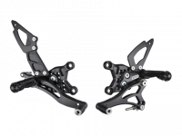 Hand & Foot Controls - Foot  Controls - Bonamici Racing - Bonamici Adjustable Billet Rearsets: APRILIA RSV4 / TUONO V4 REARSETS 09-16 [NON APRC]