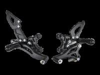 Hand & Foot Controls - Foot  Controls - Bonamici Racing - Bonamici Adjustable Billet Rearsets: APRILIA RSV4 / TUONO V4 REARSETS W/APRC [11-16]