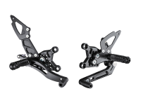 Hand & Foot Controls - Foot  Controls - Bonamici Racing - Bonamici Adjustable Billet Rearsets: APRILIA RSV4 / TUONO V4 REARSETS W/APRC [11-16] GP Shift Only