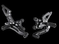 Hand & Foot Controls - Foot  Controls - Bonamici Racing - Bonamici Adjustable Billet Rearsets: APRILIA RSV4 / TUONO V4 REARSETS W/APRC [2017+]