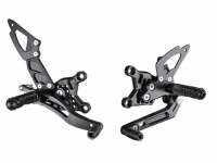 "Hand & Foot Controls - Foot  Controls - Bonamici Racing - Bonamici Adjustable Billet Rearsets: APRILIA RSV4 / TUONO V4 REARSETS W/APRC, 2017+ [""GP"" SHIFT]"