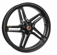 BST Wheels - BST Rapid Tek Carbon Fiber Front Wheel: Panigale 1199/1299, V4