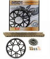 SUPERLITE - SUPERLITE RS7 Complete Sprocket Kit: Ducati Monster 821 [OEM Size: 520 - 15/46 ]