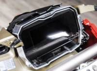 Electrical, Lighting, & Gauges - Gauges and Gauge Kits - Bonamici Racing - BONAMICI RACING BILLET DASH COVER: PANIGALE V4