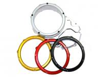 Ducabike Complete Clear Clutch Case Cover/Pressure Plate/Ring: Ducati Hypermotard 939 / 939 SP