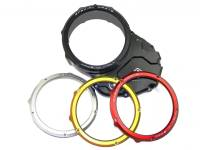 Ducabike Complete Clear Clutch Case Cover/Pressure Plate/Ring: Ducati Monster 1200/S/R, MTS 1200 [10-14]