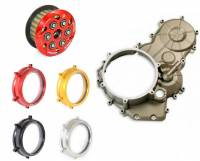 Clutch - Covers - Ducabike - Complete Clutch Conversion Kit: OEM Magnesium Case, Ducabike Billet Clear Clutch Cover and Slipper Clutch: Ducati Panigale 899