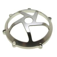 SpeedyMoto - SPEEDYMOTO Ducati Dry Clutch Cover: Clear Anodized, 5 Spoke [Minor Imperfection]