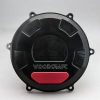 "Woodcraft - Woodcraft Ducati Panigale V4 Clutch Cover with Skid Plate [No ""R"" model]"
