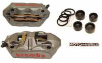 Brake - Replacement Parts - Brembo - BREMBO M4 Caliper Service Kit [Sold per Caliper]
