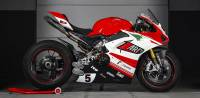 Zard - ZARD DM5 RACING EXHAUST KIT WITH REMOVABLE DB KILLERS [STAINLESS STEEL HEADERS AND TITANIUM SILENCERS] : Ducati Panigale V4 - Image 3