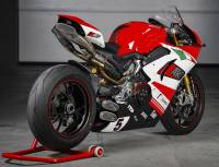 Zard - ZARD DM5 RACING EXHAUST KIT WITH REMOVABLE DB KILLERS [STAINLESS STEEL HEADERS AND TITANIUM SILENCERS] : Ducati Panigale V4 - Image 2