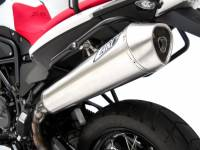 Exhaust - Full Systems - Zard - ZARD STAINLESS STEEL SILENCER RACING WITH REMOVABLE DB KILLER: BMW F 800 GS