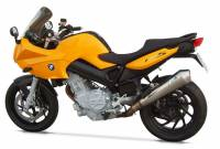 Exhaust - Full Systems - Zard - ZARD STAINLESS STEEL SILENCER RACING WITH REMOVABLE DB KILLER: BMW F 800 ST
