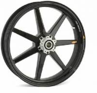 BST Wheels - BST 7 Spoke Front Wheel: 1098,1198, Streetfighter 1098, MTS1200 ,S4R, S4RS,Hypermotard 796/1100 [Minor imperfections on one side due to test fitting] Please read the details!