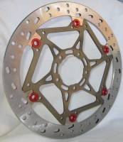 Braketech - BrakeTech AXIS Superbike Race Rotors • Hi-Spec Stainless Steel: 330mm x 6.5mm   V4 / 1299 / 1199 / 899 / 959 Panigale [Pair]