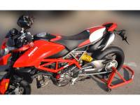 Ducabike - Ducabike COMFORT SEAT COVER: Ducati Hypermotard 950 [Blk/Red] - Image 4