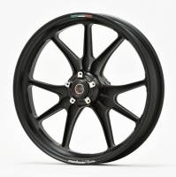 Marchesini - Marchesini Ultra Rare M9RS Superleggera Forged Magnesium Wheels: Panigale 1199/1299/ V4/S/R [Gloss Black] One Set Only - Image 16