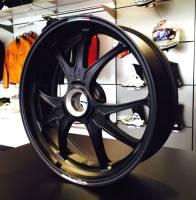 Marchesini - Marchesini Ultra Rare M9RS Superleggera Forged Magnesium Wheels: Panigale 1199/1299/ V4/S/R [Gloss Black] One Set Only - Image 13