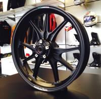 Marchesini - Marchesini Ultra Rare M9RS Superleggera Forged Magnesium Wheels: Panigale 1199/1299/ V4/S/R [Gloss Black] One Set Only - Image 12