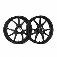 Marchesini - Marchesini Ultra Rare M9RS Superleggera Forged Magnesium Wheels: Panigale 1199/1299/ V4/S/R [Gloss Black] One Set Only - Image 11