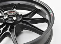 Marchesini - Marchesini Ultra Rare M9RS Superleggera Forged Magnesium Wheels: Panigale 1199/1299/ V4/S/R [Gloss Black] One Set Only - Image 3
