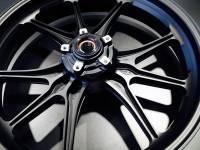 Marchesini - Marchesini Ultra Rare M9RS Superleggera Forged Magnesium Wheels: Panigale 1199/1299/ V4/S/R [Gloss Black] One Set Only - Image 4