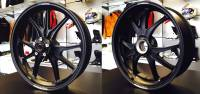 Marchesini - Marchesini Ultra Rare M9RS Superleggera Forged Magnesium Wheels: Panigale 1199/1299/ V4/S/R [Gloss Black] One Set Only - Image 9