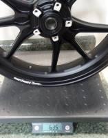 Marchesini - Marchesini Ultra Rare M9RS Superleggera Forged Magnesium Wheels: Panigale 1199/1299/ V4/S/R [Gloss Black] One Set Only - Image 7