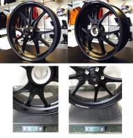 "Marchesini - Marchesini ""Ultra Rare M9RS Superleggera"" Forged Magnesium Wheels: Panigale V4/V4S/V4R [Gloss Black]"