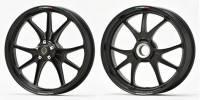 Marchesini - Marchesini Ultra Rare M9RS Superleggera Forged Magnesium Wheels: Panigale 1199/1299/ V4/S/R [Gloss Black] One Set Only - Image 2