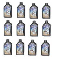 Shell - Shell Advance 4T Ultra 10W-40 / 15W-50 Synthetic Oil Case [12 Bottles]